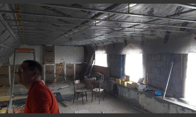 Isolation plaquisterie et Maconnerie à Perros Guirec