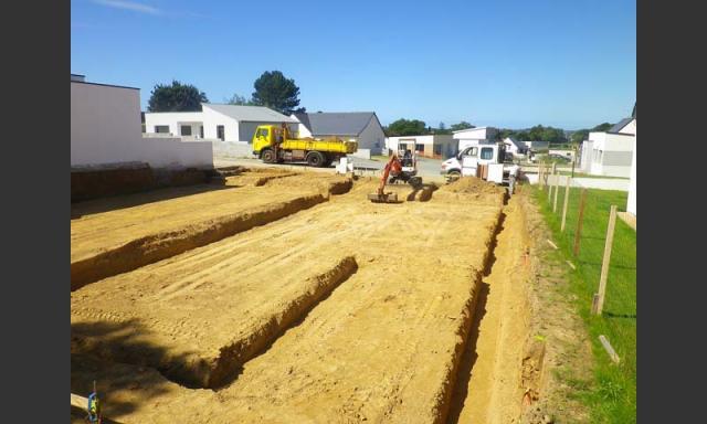 Terrassement et Maconnerie renovation à Tonquedec